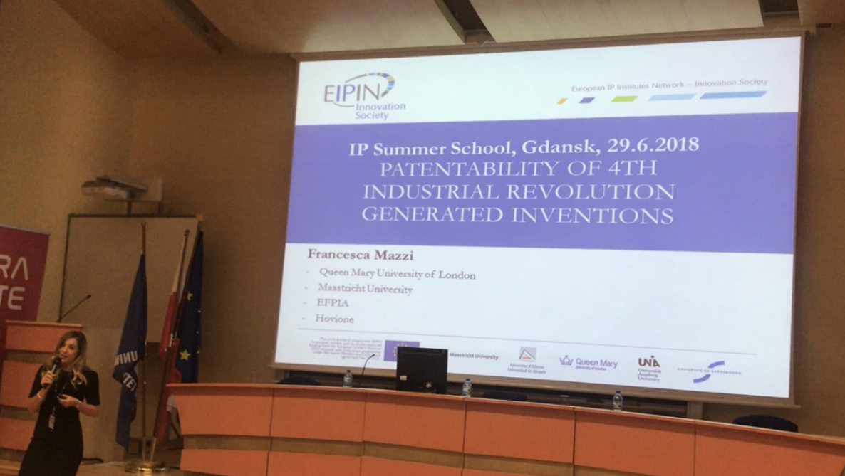 Mazzi, Klobučník and Hartman keynote speaker at IP SUMMER SCHOOL – UNIVERSITY OF GDANSK