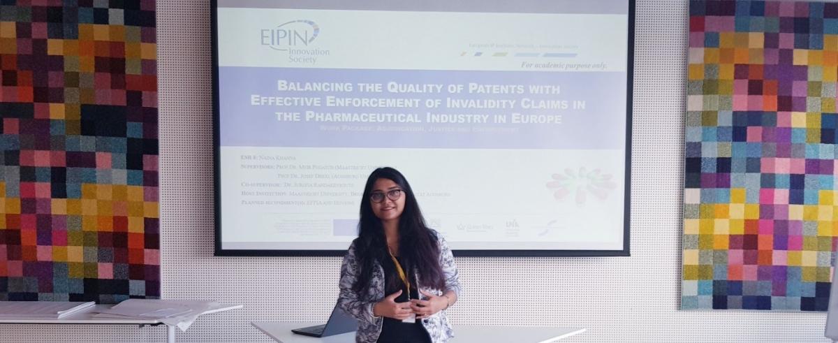 Francesca Mazzi and Naina Khanna presented at Hovione, Lumiar