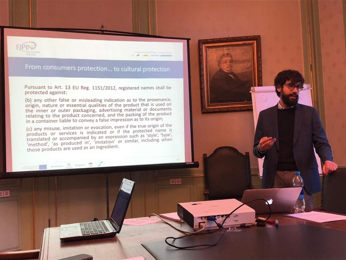Maurizio Crupi at IGIR Lunch Seminar