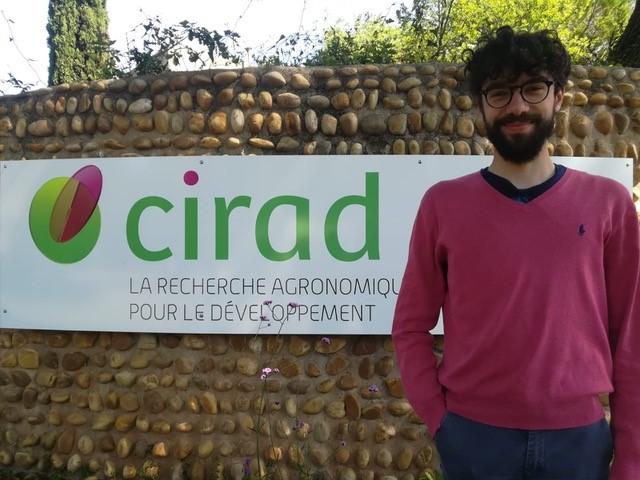 Maurizio Crupi at CIRAD research seminar