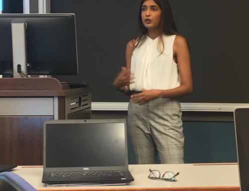 Natasha Mangal (ESR 12) presented at the Intellectual Property Scholars Conference