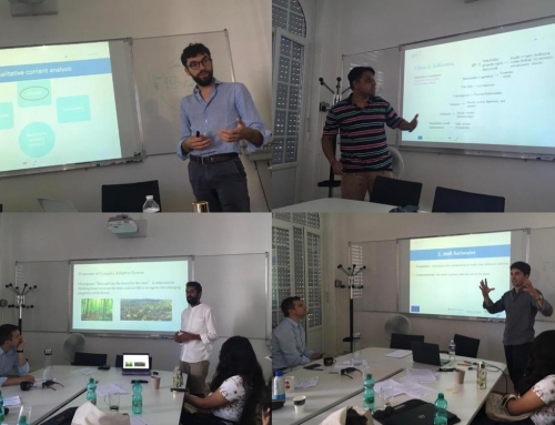 Empirical Methods Presentations by ESRs 1 to 4